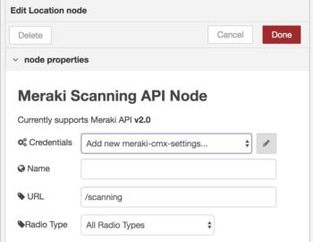 Scanning API with Node-RED Node - Cisco DevNet